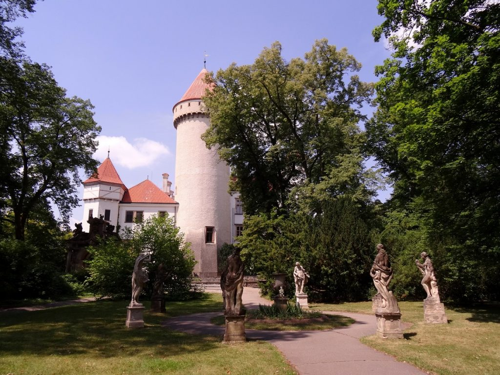 Château de Konopiste République Tchèque Prague