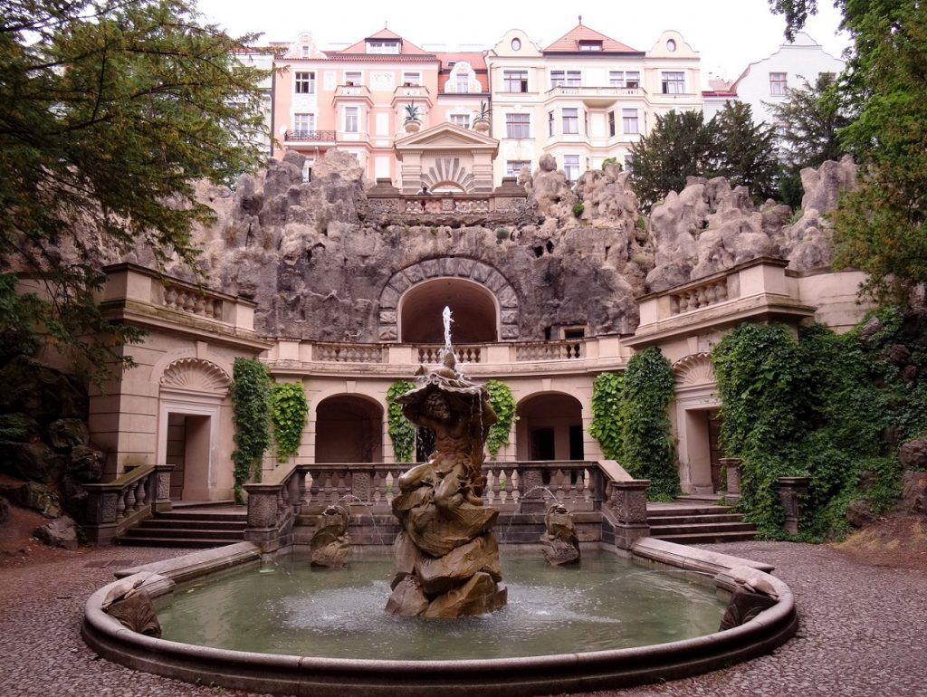 Grotte de Havlíčkovy sady Grotta