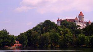 Le château de Konopiste en République Tchèque