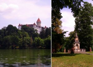 Château de Konopiste en République Tchèque