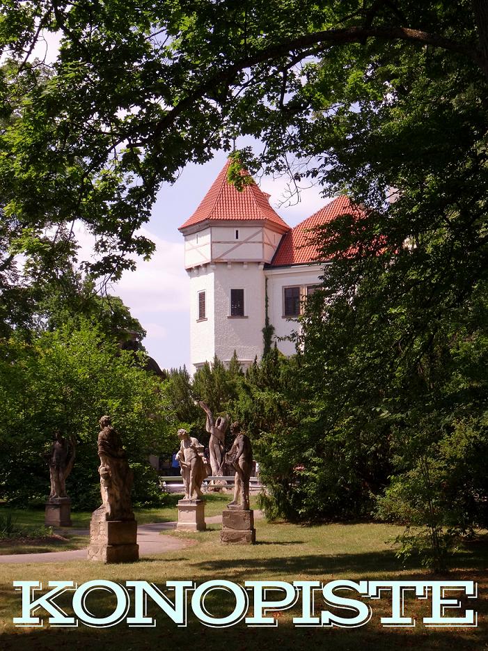 Konopiste et son château en République Tchèque. A seulement 1h en train de Prague, découvrez ce domaine ayant appartenu à François Ferdinand. - Konopiste Czech Republic