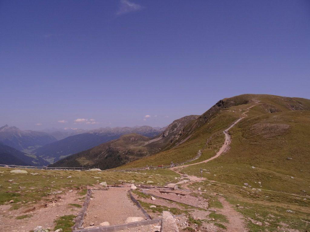 Sentier pour la randonnée non loin de Merano