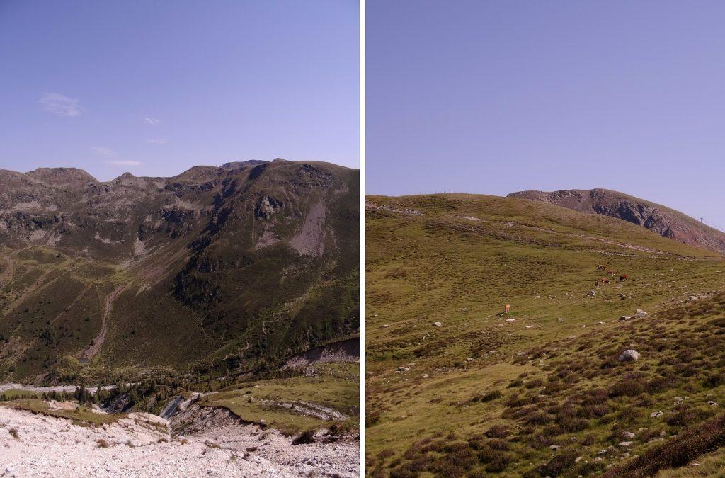 Les montagnes dans le Tyrol du Sud (Merano, Falzeben)
