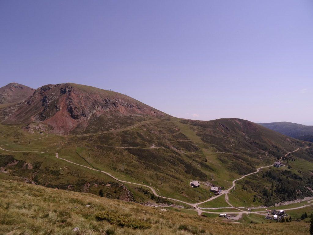 Les nombreux sentiers qui relient Falzeben aux montagnes du Tyrol du Sud