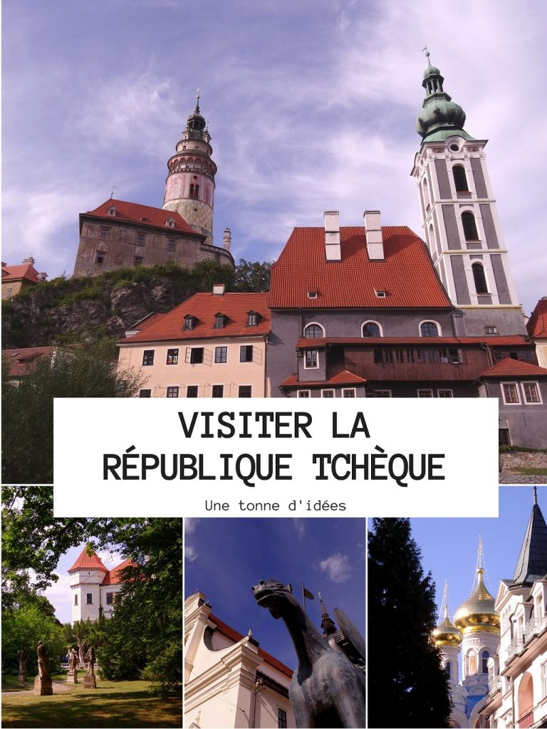 Idées d'endroits à visiter en République Tchèque : Cesky Krumlov, Lednice, Karlovy Vary, Brno et bien d'autres
