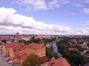 La rivière Lužnice à Tabor