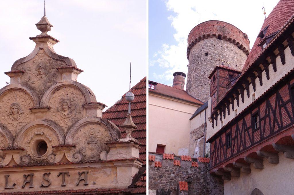 Château de Kotnov à Tabor en République Tchèque