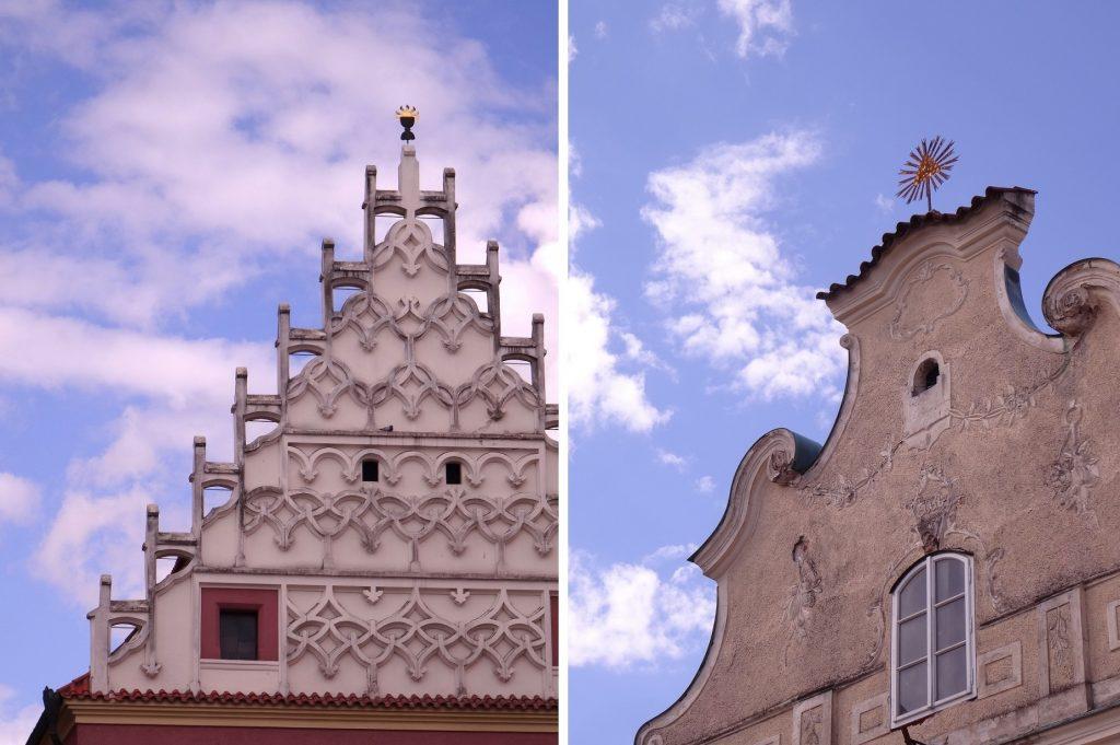 Les jolies façades de Tabor