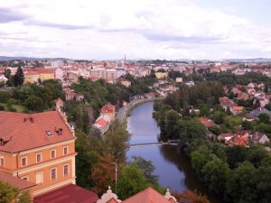 Tabor: grand village ou petite ville en République Tchèque.