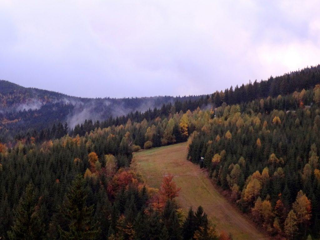 Piste de ski à Spindleruv Mlyn en République tchèque