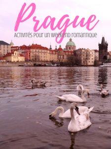 Des idées d'activités pour un weekend romantique à Prague