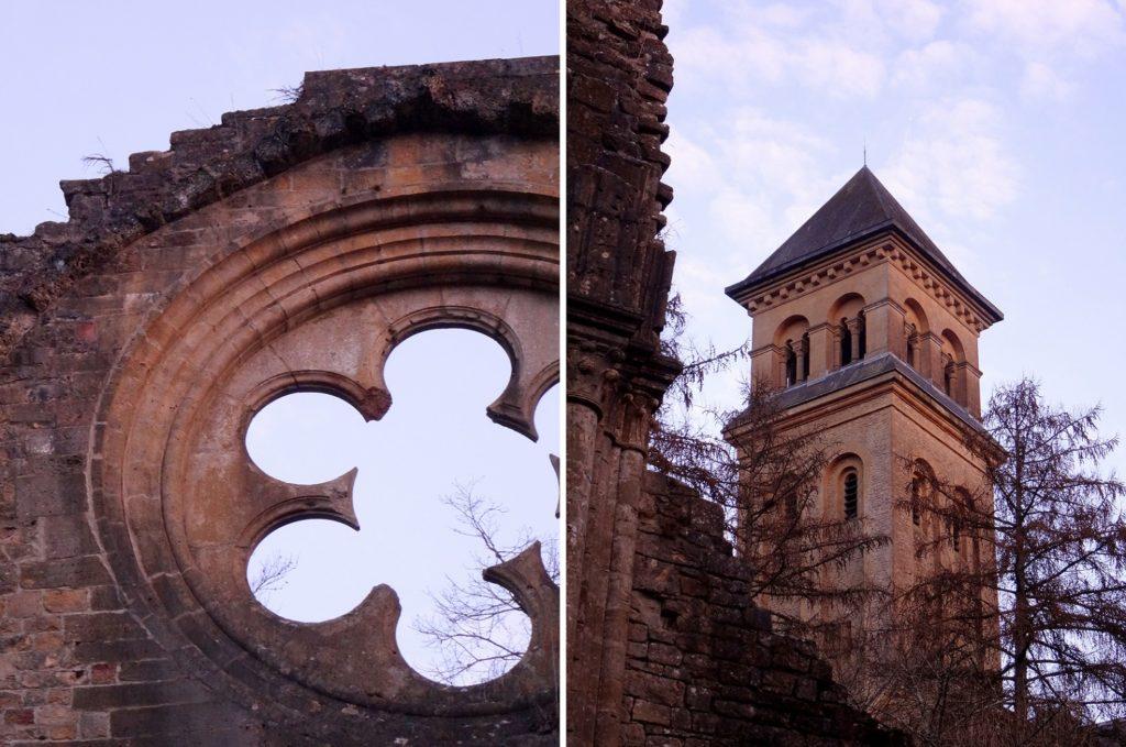 Ancienne rosace de l'abbaye d'Orval