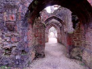 Ancien passage dans l'abbaye d'Orval