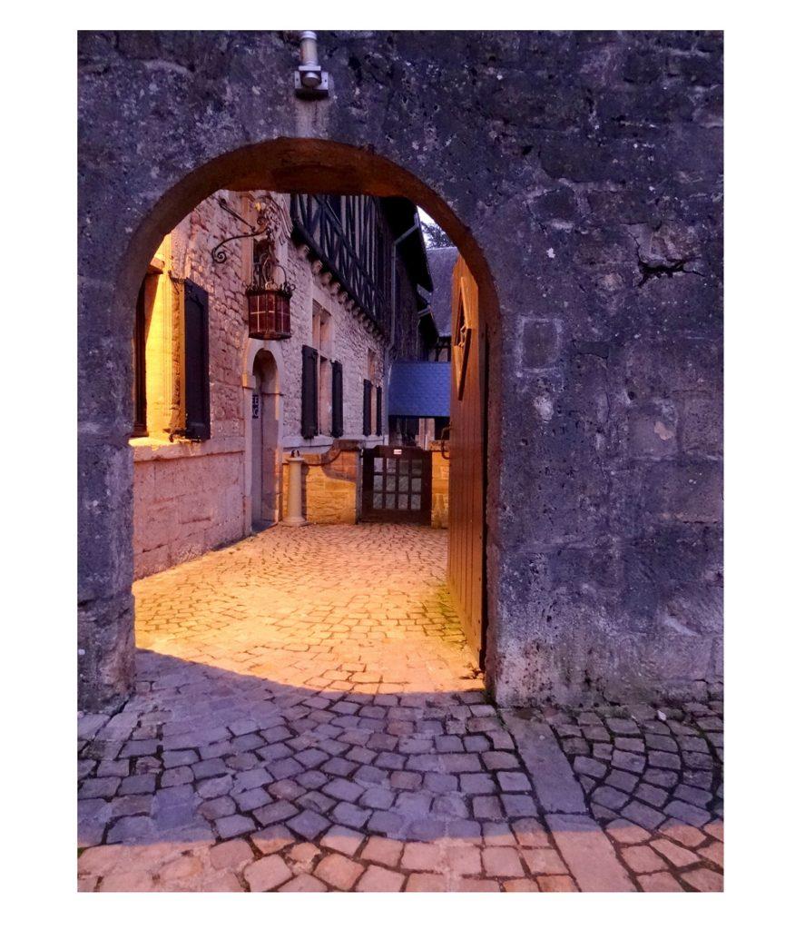 Entrée vers la visite de l'abbaye d'Orval