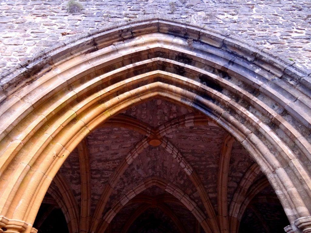 Arcades de l'abbaye d'Orval