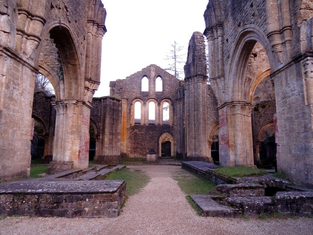 Ruines de l'abbaye d'Orval