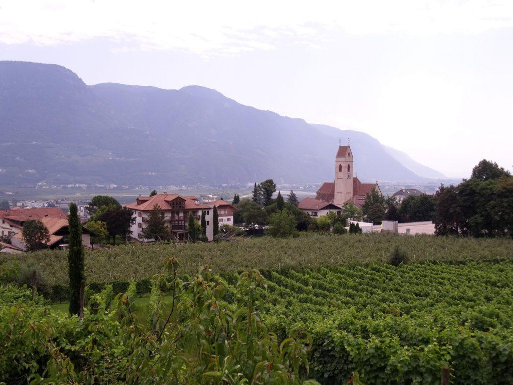 Marlengo dans le Sud du Tyrol en Italie