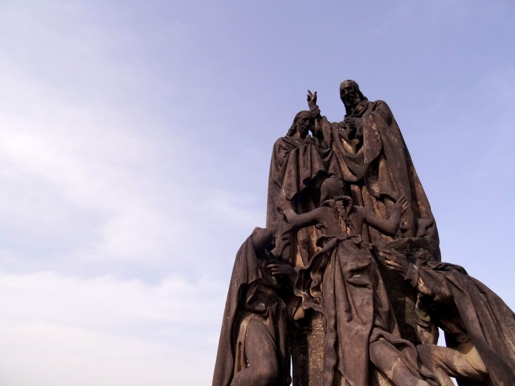 Statue du pont Charles de Prague