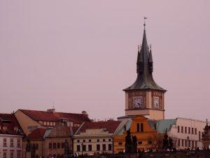 Un clocher de Prague