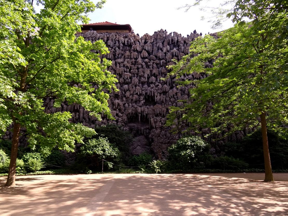 La grotte du jardin de Wallenstein dans Malá Strana à Prague en République Tchèque - Czech Republic, Praha