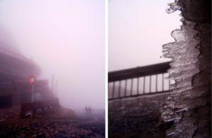 Jested en hiver en République Tchèque