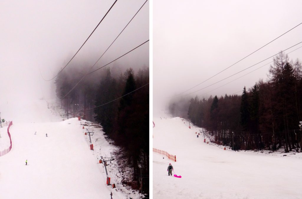 Ski à Jested (Liberec) en République Tchèque