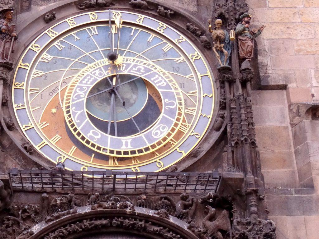 Horloge astronomique de Prague sur la place de la vieille ville
