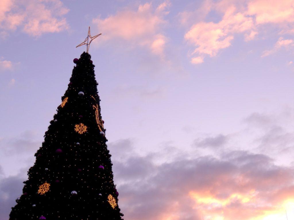 Sapin de Noël de Prague en République Tchèque