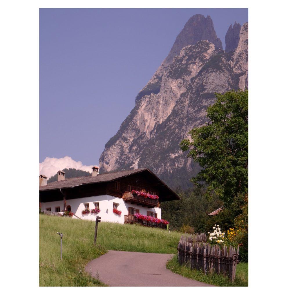 Montagne de Fié allo Sciliar dans le Tyrol du Sud