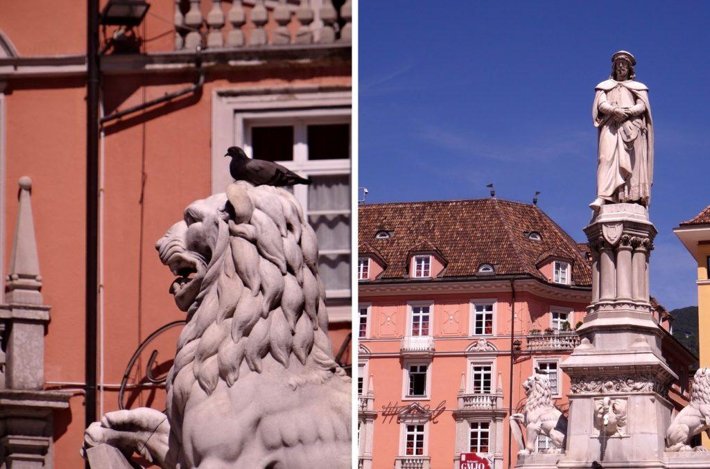 Bolzano dans le nord de l'Italie
