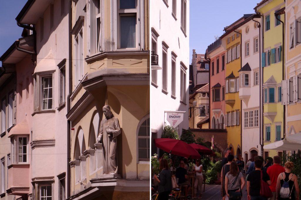 Les façades de Bolzano