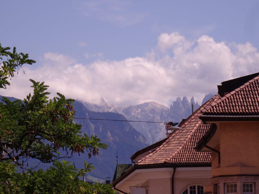 Les montagnes de Bolzano