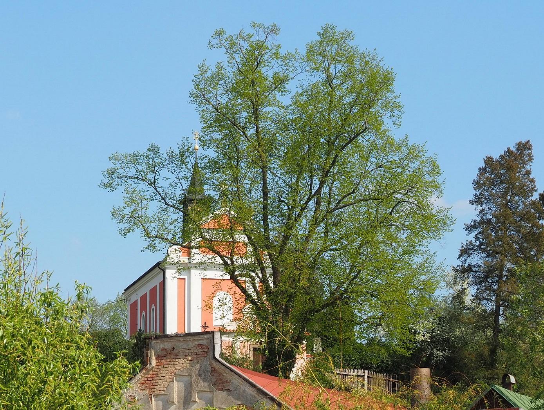 Eglise de Kamenný Přívoz en République Tchèque