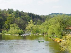 Rivière Savaza à Kamenný Přívoz