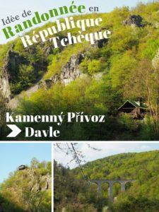 Idée de randonnée en République Tchèque: de Kamenný Přívoz à Davle (non loin de Prague) - Hiking trail in Czech Republic: from Kamenný Přívoz to Davle (close to Prague)