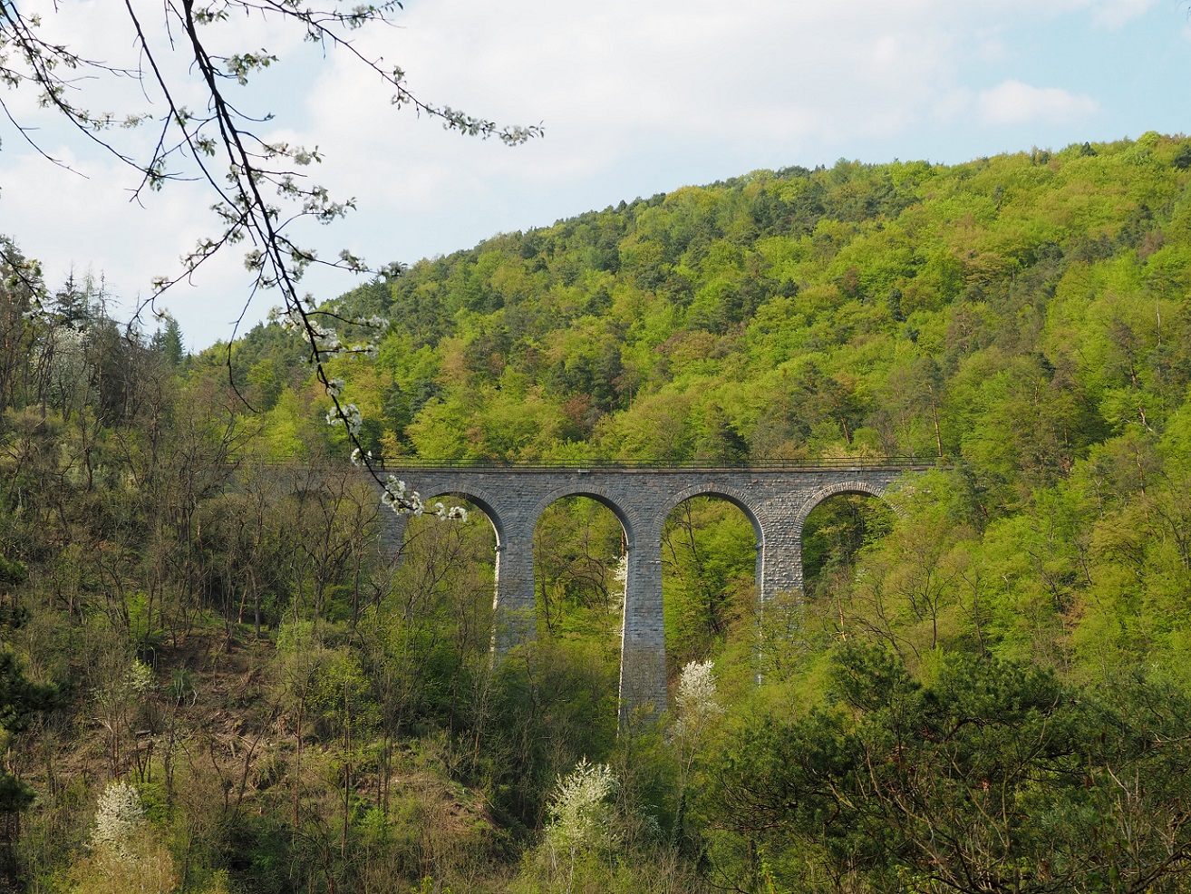 Zampassky viaduct, Žampach viaduct, Žampašský most in Czech Republic
