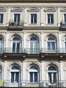Jolie façade à Gmunden en Autriche