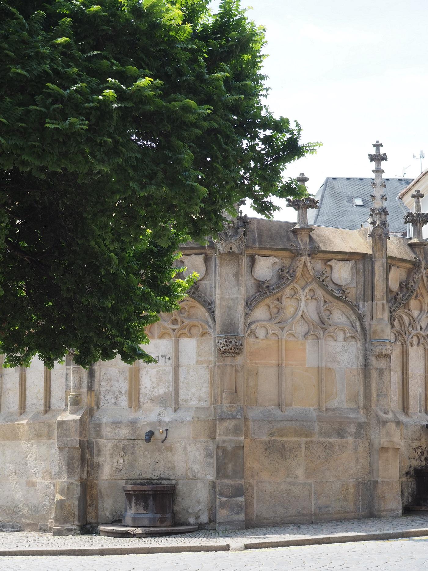La fontaine de pierre de Kutná Hora