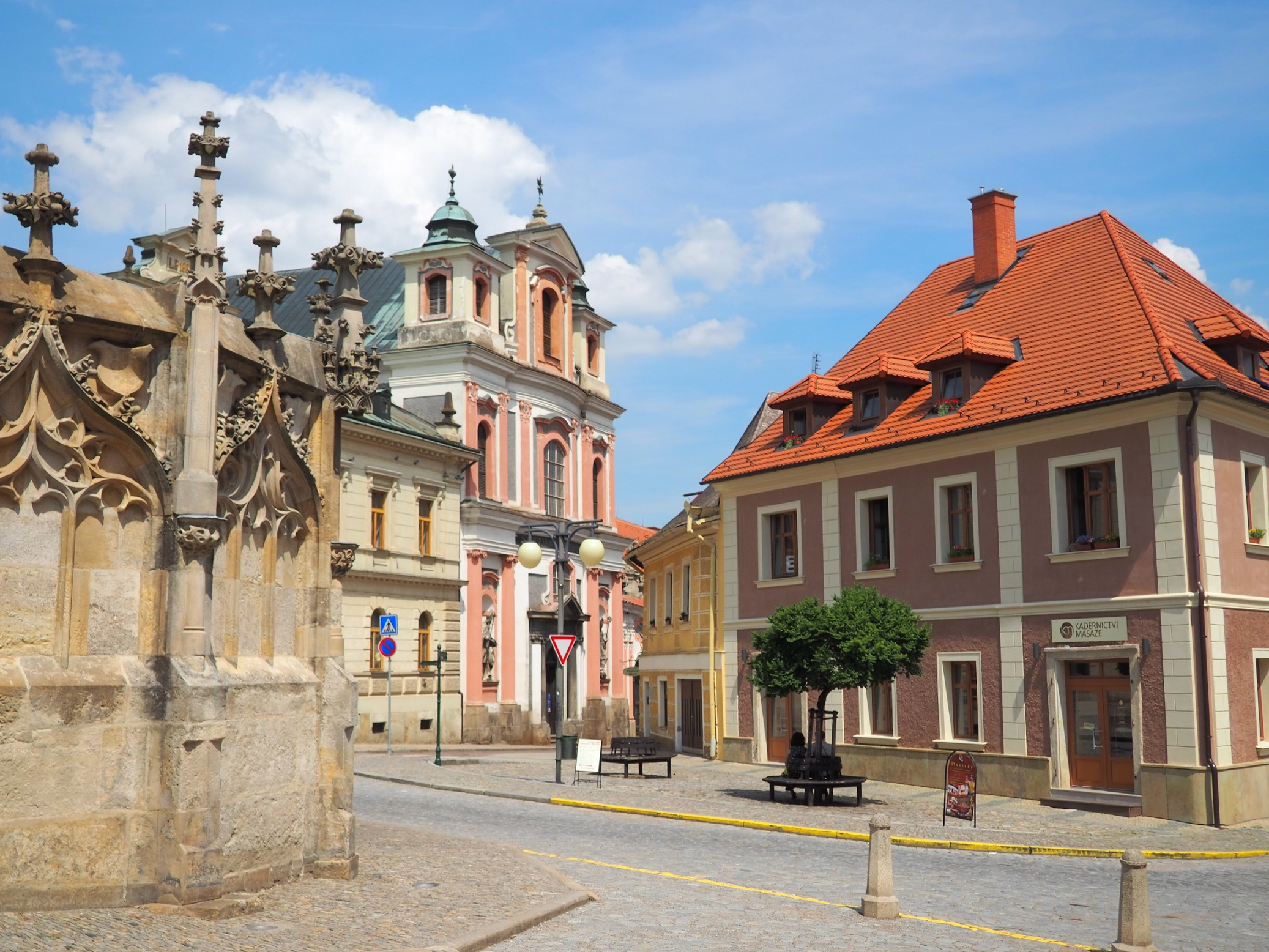 Kutná Hora et sa fontaine de pierre