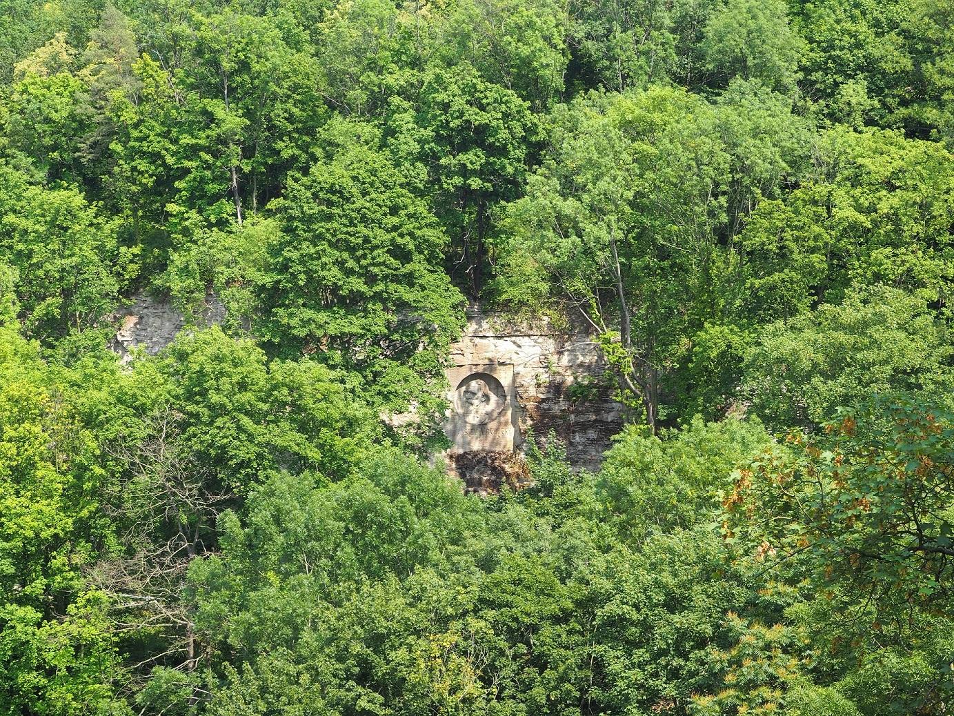 Statue cachée à Kutná Hora