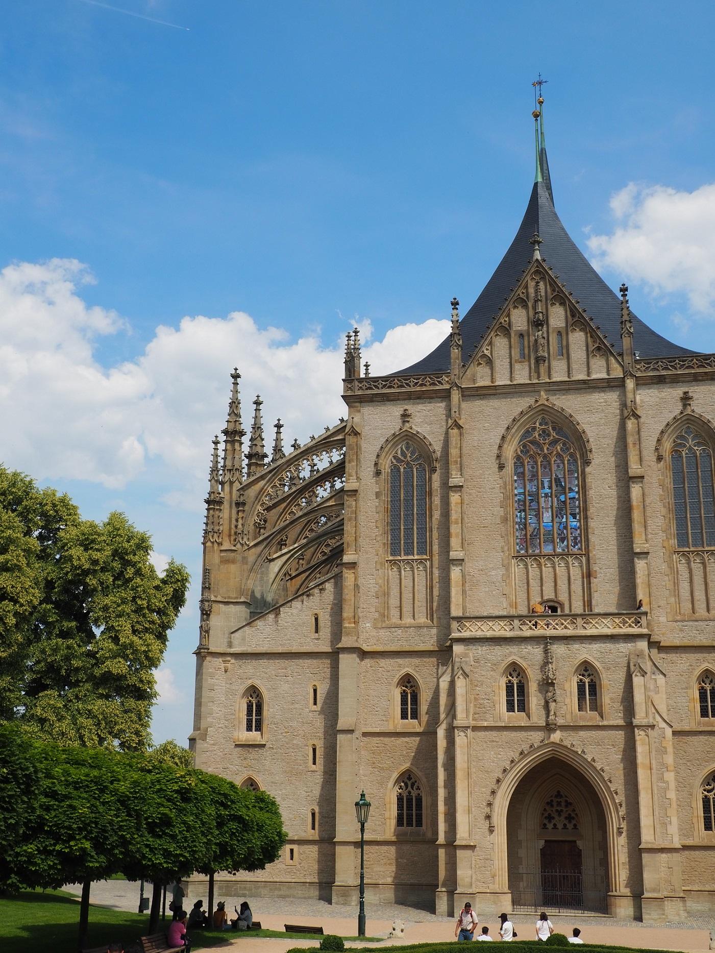 Église Sainte-Barbe de Kutná Hora