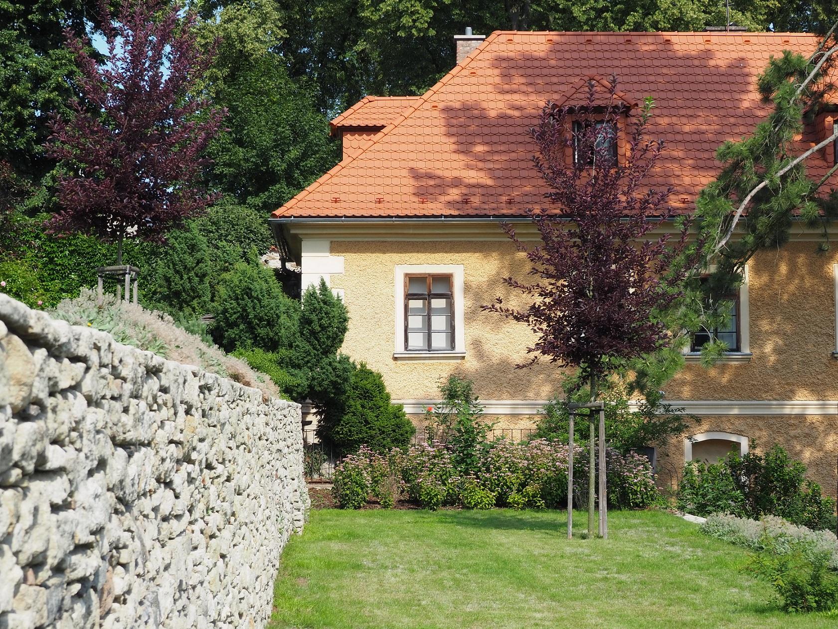 le parc Breüerovy sady à Kutná Hora