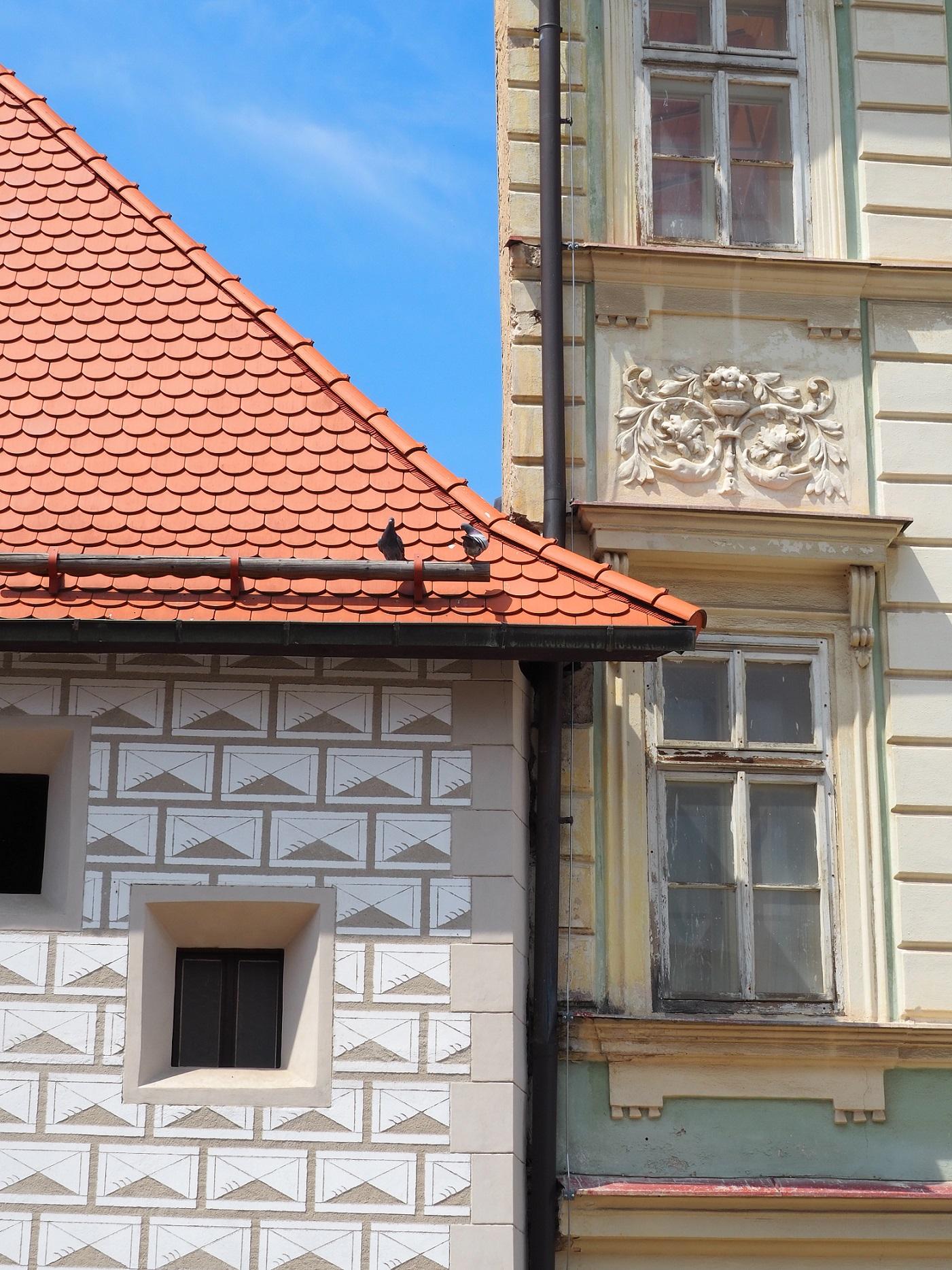 Les façades de Kutná Hora