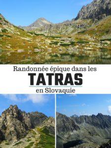 Randonnée épique dans les Tatras en Slovaquie depuis Štrbské Pleso: informations pratiques, parcours, conseils et partage d'expérience.