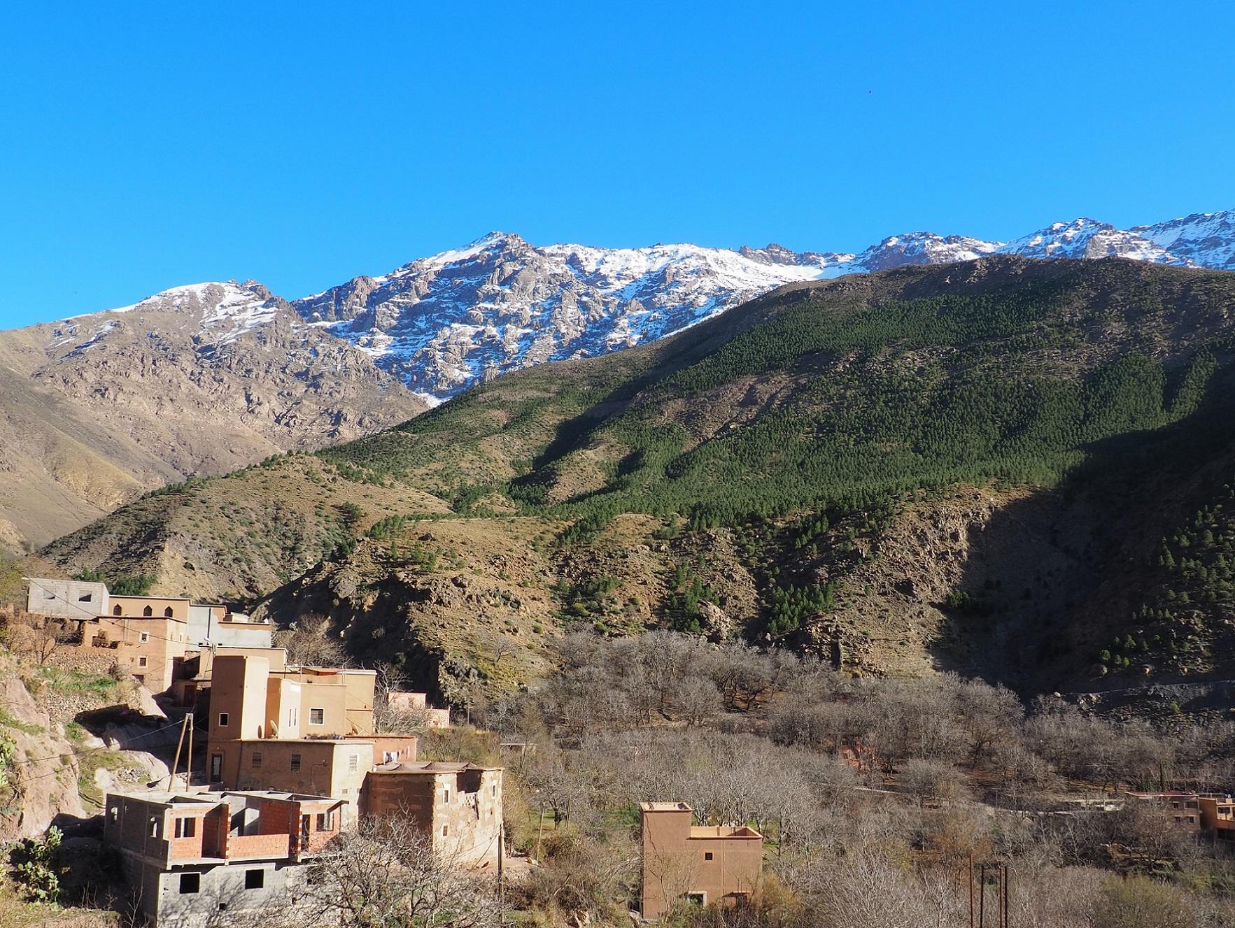 L'Atlas au Maraoc en une journée: excursion vers Imlil non loin de Marrakech