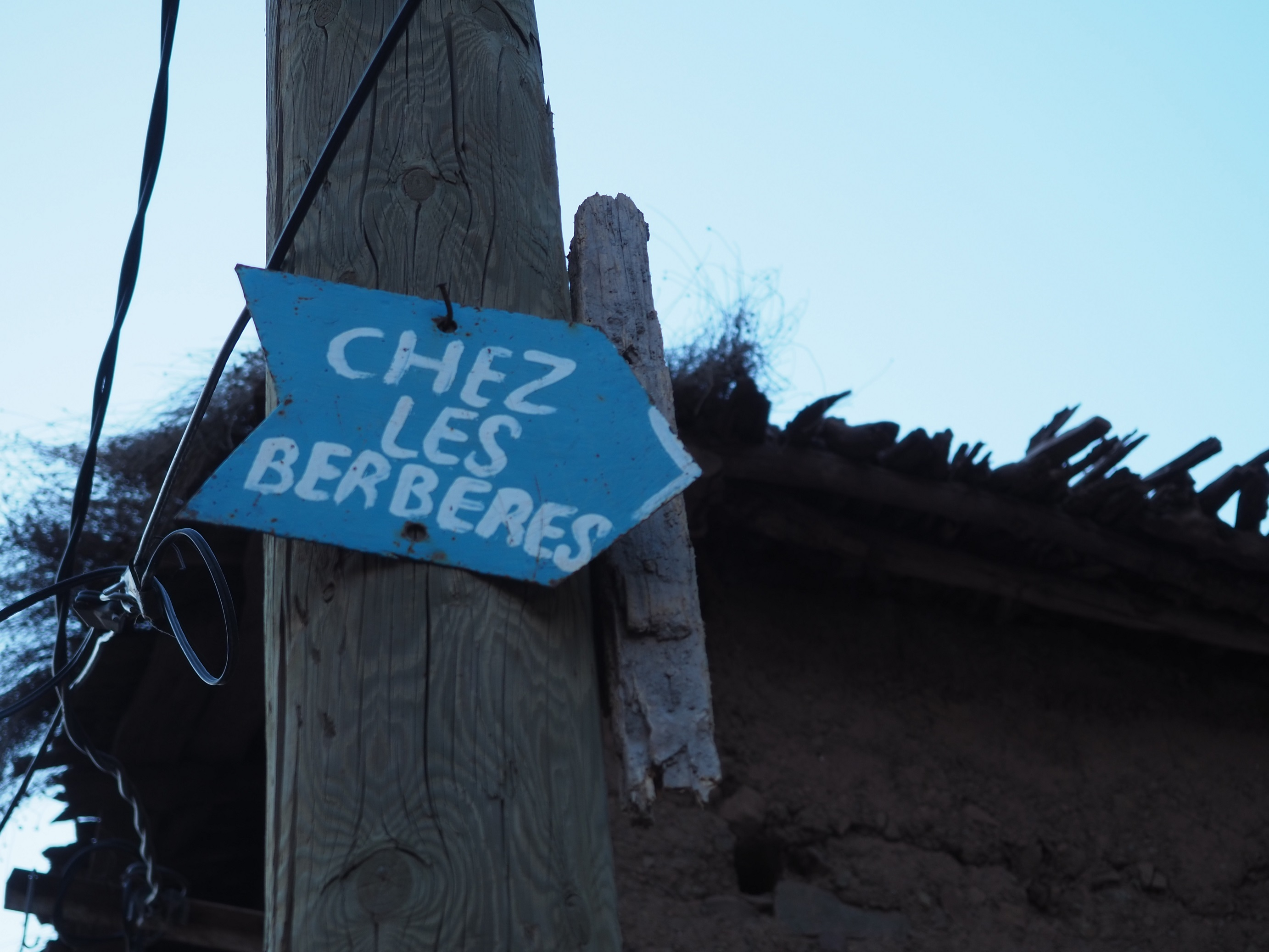 Chez les berberes Tamatert