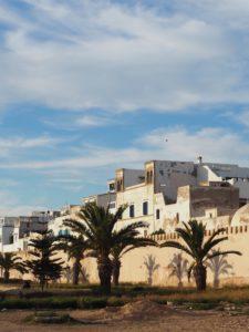 Les façades blanches d'Essaouira