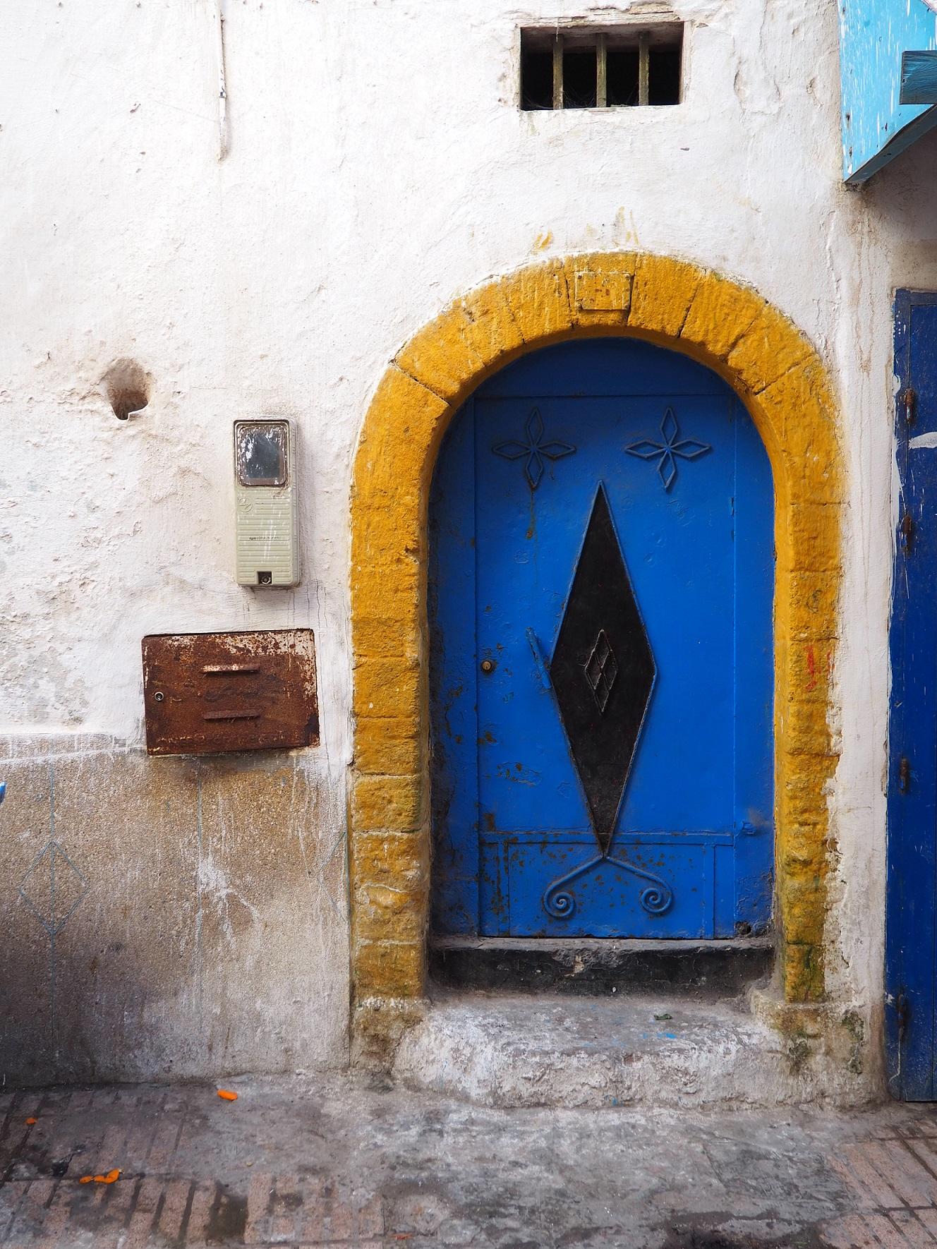 Couleurs vives d'Essaouira