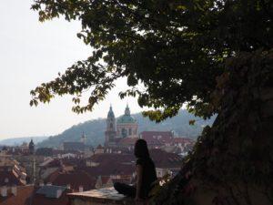 Vue sur Mala Strana à Prague