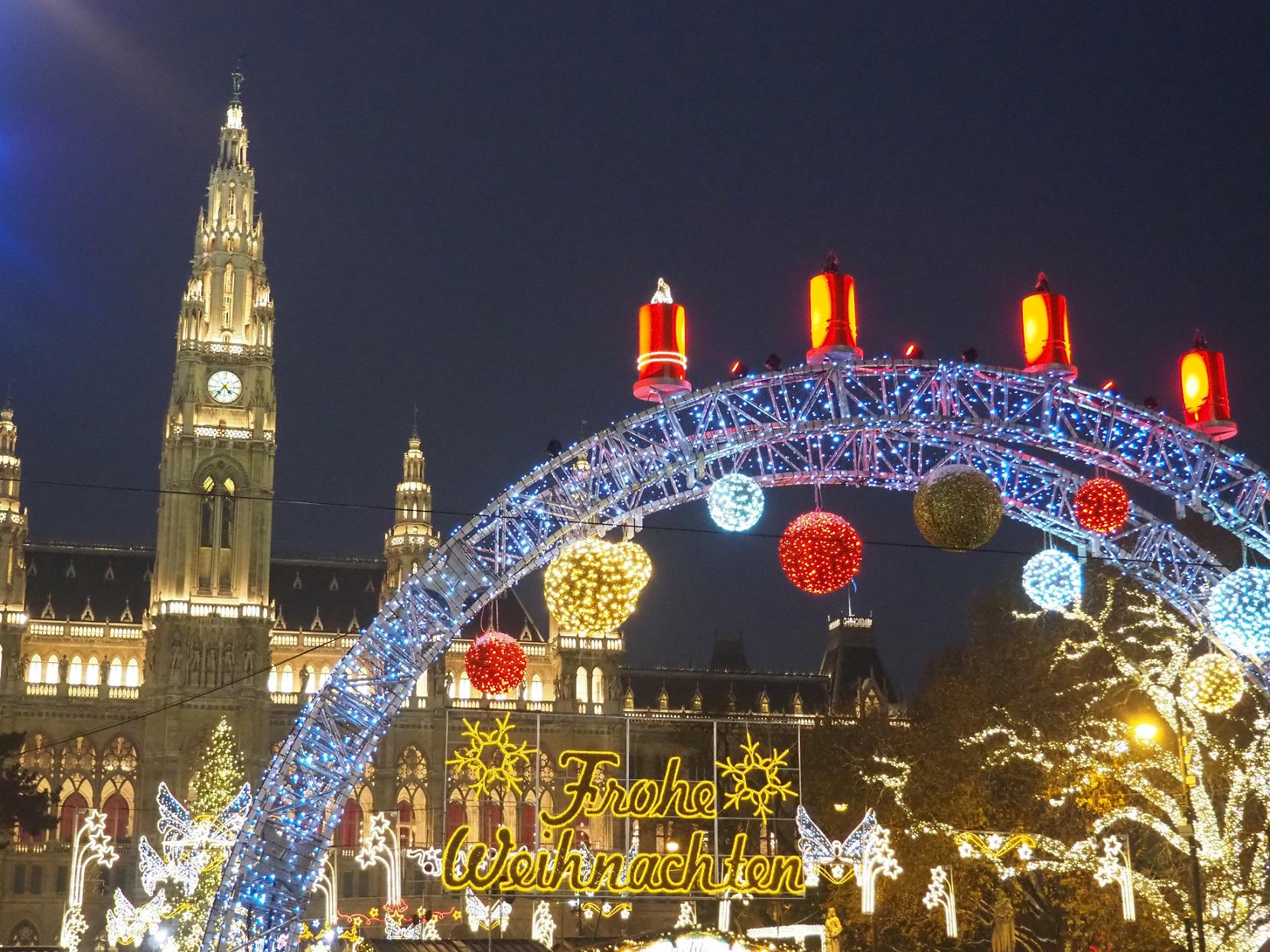 Marché de Nöel à Vienne